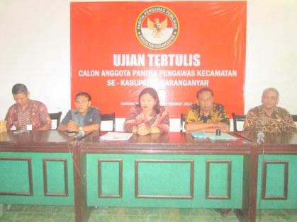Seremonial Pembukaan Test Tertulis Calon Panwas Pemilu Kecamatan